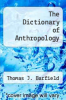 cover of The Dictionary of Anthropology