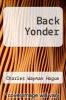 cover of Back Yonder