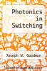 cover of Photonics in Switching