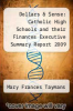 cover of Dollars & $ense: Catholic High Schools and their Finances Executive Summary Report 2009