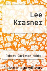 Cover of Lee Krasner EDITIONDESC (ISBN 978-1558596511)