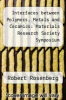 cover of Interfaces between Polymers, Metals and Ceramics: Materials Research Society Symposium Proceedings