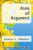 cover of Aims of Argument