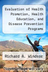 Cover of Evaluation of Health Promotion, Health Education, and Disease Prevention Programs 2 (ISBN 978-1559342438)