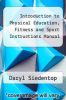 cover of Introduction to Physical Education, Fitness and Sport Instructions Manual (3rd edition)