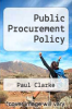 cover of Public Procurement Policy