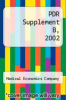 cover of PDR Supplement B, 2002 ( edition)