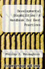 cover of Developmental Disabilities : A Handbook for Best Practices