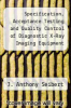 cover of Specification, Acceptance Testing and Quality Control of Diagnostic X-Ray Imaging Equipment