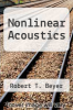 cover of Nonlinear Acoustics