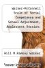 cover of Walker-McConnell Scale of Social Competence and School Adjustment, Adolescent Version: Reorder Forms Set of 20