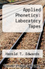 cover of Applied Phonetics: Laboratory Tapes (2nd edition)