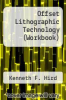 Offset Lithographic Technology (Workbook) by Kenneth F. Hird - ISBN 9781566371926