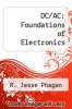 cover of DC/AC: Foundations of Electronics