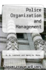 cover of Police Organization and Management (8th edition)