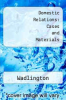 Domestic Relations: Cases and Materials by Wadlington - ISBN 9781566621823