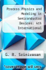 cover of Process Physics and Modeling in Semiconductor Devices: 4th International Symposium
