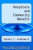 cover of Hospitals & Community Benefit : New Demands, New Approaches