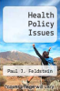 cover of Health Policy Issues