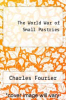 cover of The World War of Small Pastries