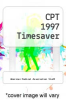cover of CPT 1997 Timesaver (11th edition)