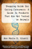 cover of Shopping Guide for Caring Consumers: A Guide to Products That Are Not Tested on Animals