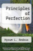cover of Principles of Perfection