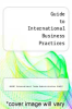 cover of Guide to International Business Practices
