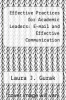 cover of Effective Practices for Academic Leaders: E-mail and Effective Communication