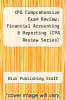 cover of CPA Comprehensive Exam Review: Financial Accounting & Reporting (CPA Review Series)