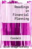 cover of Readings in Financial Planning (6th edition)