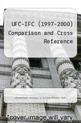 Cover of UFC-IFC (1997-2000) Comparison and Cross Reference  (ISBN 978-1580010573)