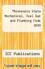 cover of Minnesota State Mechanical, Fuel Gas and Plumbing Code 2000