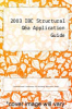 cover of 2003 IBC Structural Q&a Application Guide