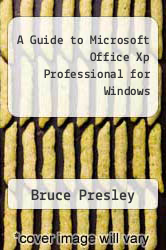 Cover of A Guide to Microsoft Office Xp Professional for Windows 1 (ISBN 978-1580030465)
