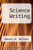 cover of Science Writing