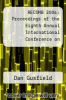 cover of RECOMB 2004: Proceedings of the Eighth Annual International Conference on Research in Computational Molecular Biology, March 27-31, 2004, San Diego, California, USA