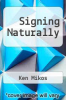 cover of Signing Naturally