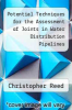 cover of Potential Techniques for the Assessment of Joints in Water Distribution Pipelines