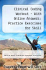 cover of 2017 Clinical Coding Workout with Partial Online Answer: Practice Exercises for Skill Development
