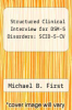 cover of User`s Guide to Structured Clinical Interview for DSM-5 Disorders (SCID-5), Clinician Version