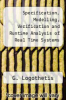 cover of Specification, Modelling, Verification and Runtime Analysis of Real Time Systems