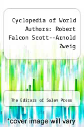 Cover of Cyclopedia of World Authors: Robert Falcon Scott--Arnold Zweig 4 (ISBN 978-1587651274)