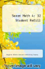 cover of Saxon Math 4: 32 Student Refill