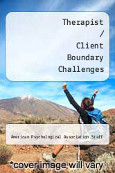 Cover of Therapist / Client Boundary Challenges  (ISBN 978-1591471790)