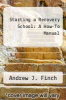 cover of Starting a Recovery School: A How-To Manual