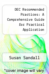 Cover of DEC Recommended Practices: A Comprehensive Guide for Practical Application 1 (ISBN 978-1593184230)
