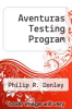 cover of Aventuras Testing Program