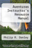 cover of Aventuras Instructor`s Resource Manual