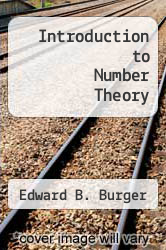 Cover of Introduction to Number Theory  (ISBN 978-1598034219)